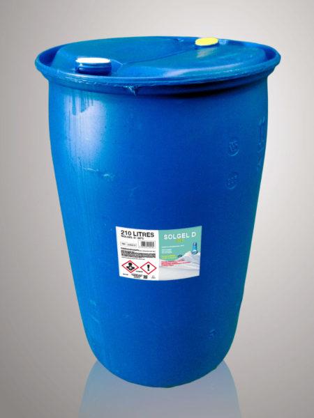 Liquide de refroidissement Solgel D -30°C - 210 Litres