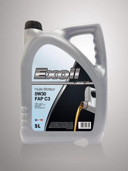 Exoil 0w30 FAP C3 - 5 Litres