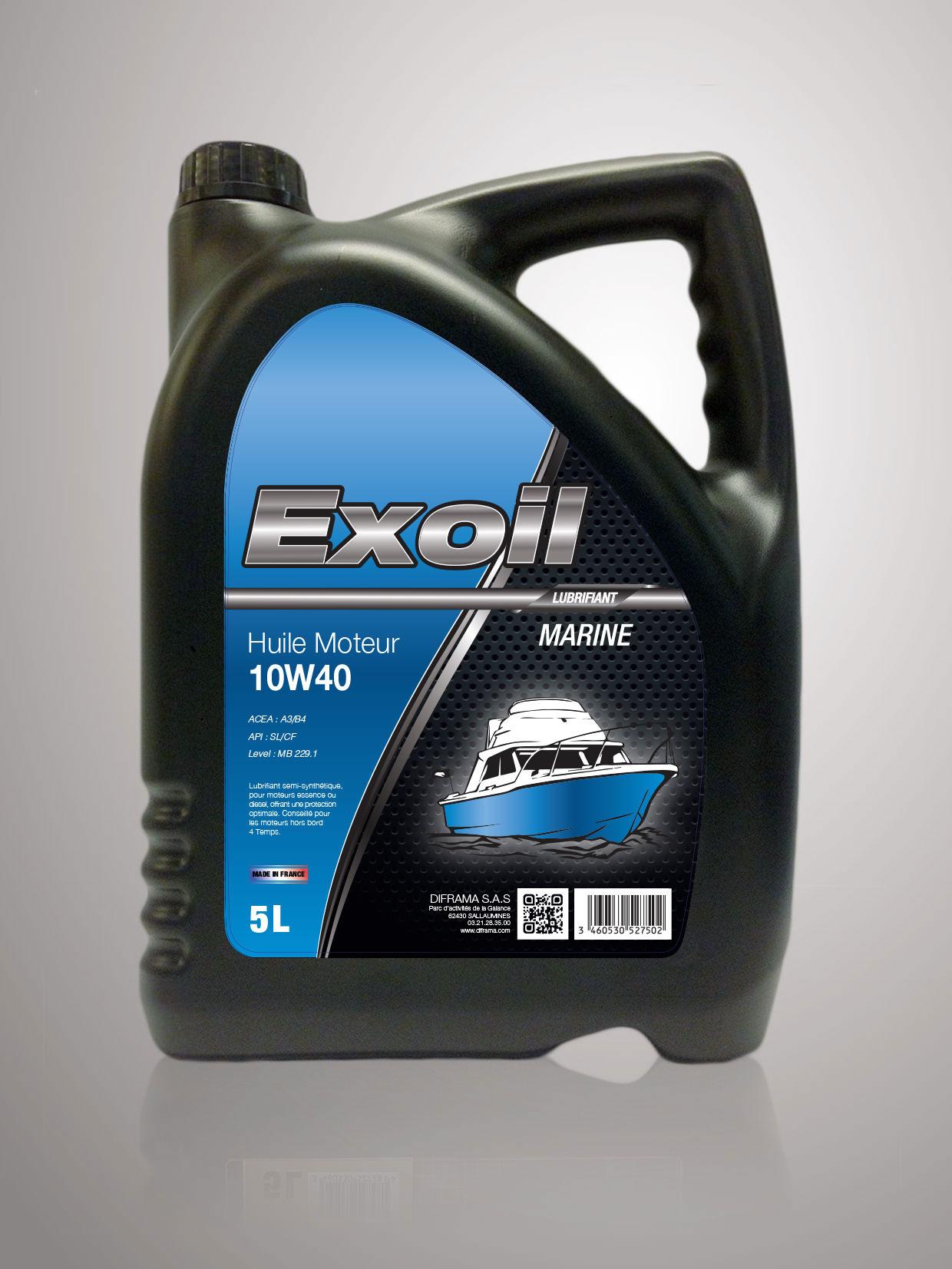 Exoil 10w40 Marine Diframa