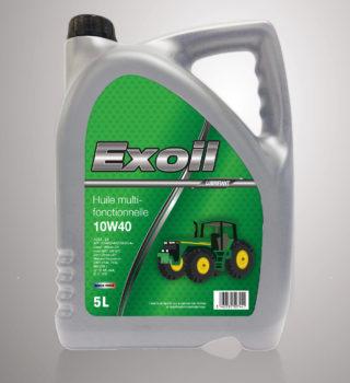 Exoil 10W40 Multifonctionnelle - 5 Litres
