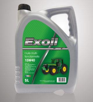 Exoil 15W40 Multifonctionnelle - 5 Litres