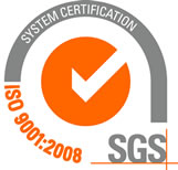 Certification SGS ISO 9001:2008