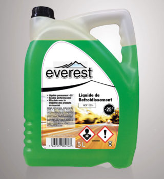 Liquide de refroidissement Everest -25°