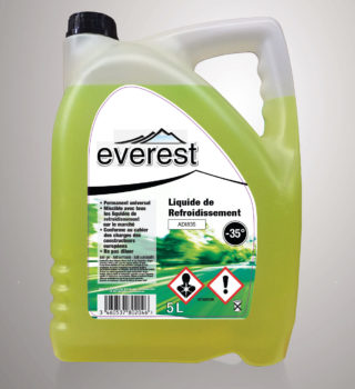 Liquide de refroidissement Everest -35°